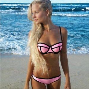 Triangl Bikini Top Milly Candy Pink